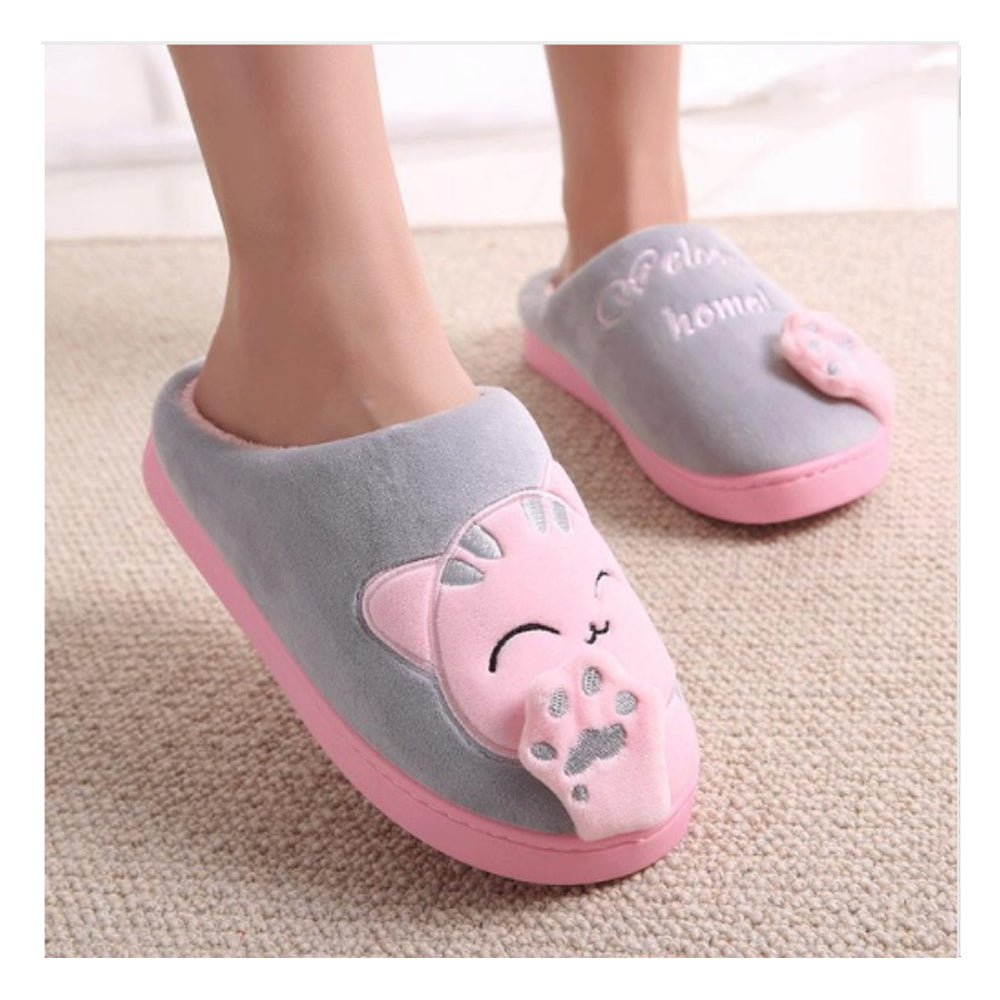 Comfy Cat Paw Slippers - Hello Moa