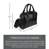 Belt & Gear Shoulder Handbag