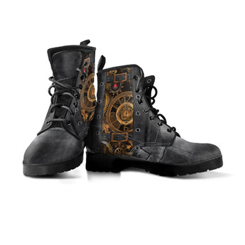 Black Steampunk II Boots