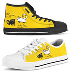 Black Cat - White Cat Canvas Shoes (Women's)