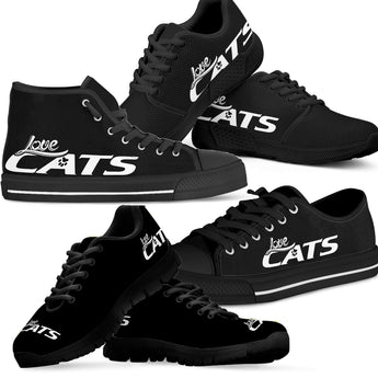 Love Cats Shoes (Black)