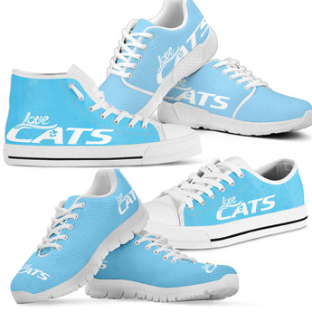 Love Cat Shoes (Blue)