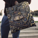 Bobbin Steampunk Cloth Tote Bag - Hello Moa