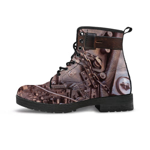 Steampunk Circuit 3 Boots - Hello Moa