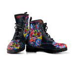 Modern Art Cat Boots - Hello Moa