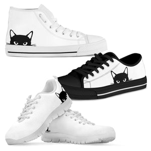 Hiding Cat Shoes (Women's)