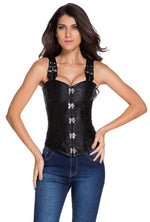 Steel Boned Buckle Corset