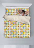 Comic Cat Bedding Set