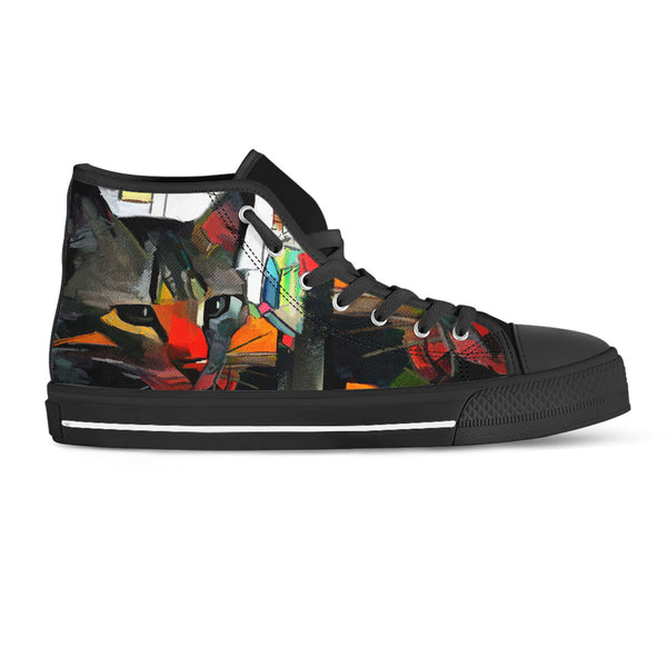 Cat Art II Canvas Shoes (Women's)