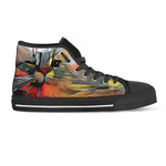 Cat Art III Canvas Shoes (Women's) - Hello Moa