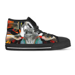 Cat Art IV Canvas Shoes (Women's) - Hello Moa