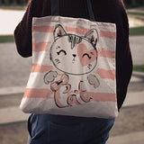 Cat Cloth Tote Bag