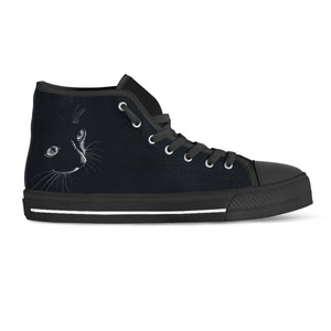 Black Cat II Hi Tops (Women's) - Hello Moa