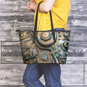Steampunk Circuit 2 Large Tote - Hello Moa