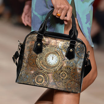 Clocks & Cogs Steampunk Handbag