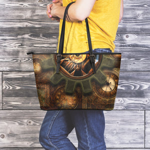 Cog & Clock Large Tote - Hello Moa