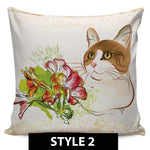 Country Cat Pillow Covers - Hello Moa