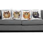 Cute Cat Pillow Covers