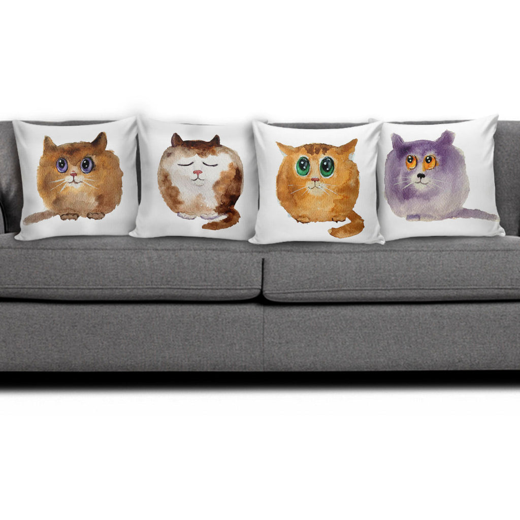 Cute Cat II Pillow Covers