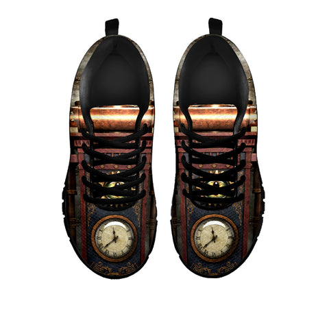 Image of Brass Steampunk Clock Sneakers