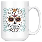 Sugar Skull Coffee Mug - Hello Moa