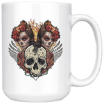Old Sugar Skull Coffee Mug