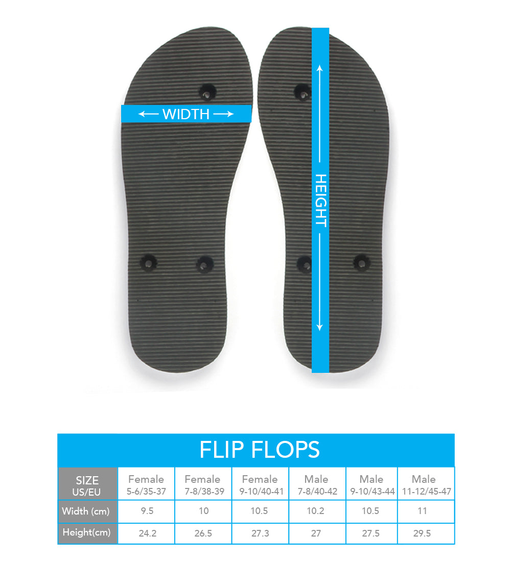 Surreal Cat II Flip Flops - Hello Moa