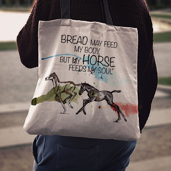 Foal Soul Cloth Tote Bag