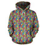 Cartoon Cat II Hoodies - Hello Moa