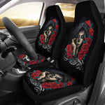 Darkside Sugar Skull Car Seat Covers - Hello Moa