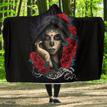 Darkside Skull Hooded Blanket - Hello Moa