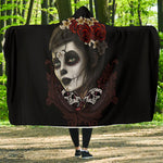 Vintage Skull Hooded Blanket - Hello Moa