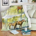 Green Horse Blanket - Hello Moa