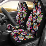 Colorful Sugar Skull II Car Seat Covers