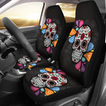 Splash Sugar Skull Car Seat Covers