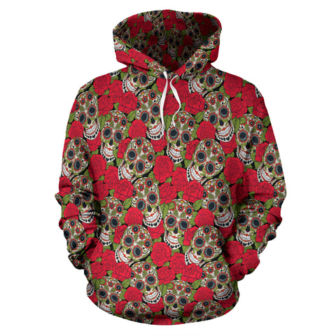 Rose Skull Hoodies