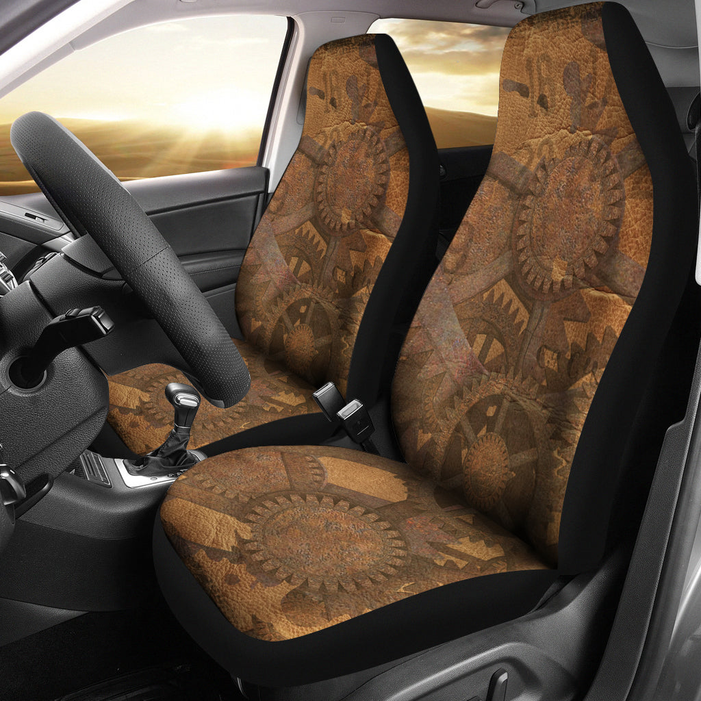 Cogs & Gears Car Seat Covers