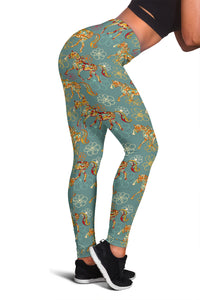 Flower Horse Leggings - Hello Moa