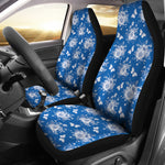Victorian Blue Car Seat Covers - Hello Moa