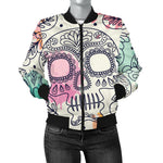 Sugar Skull Women's Bomber Jacket
