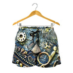 Steampunk Scissors Women's Shorts - Hello Moa