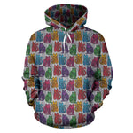 Paisley Cat Hoodies - Hello Moa