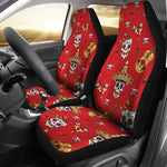 Guitar Sugar Skull Car Seat Covers - Hello Moa