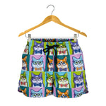 Art Cat Women's Shorts - Hello Moa