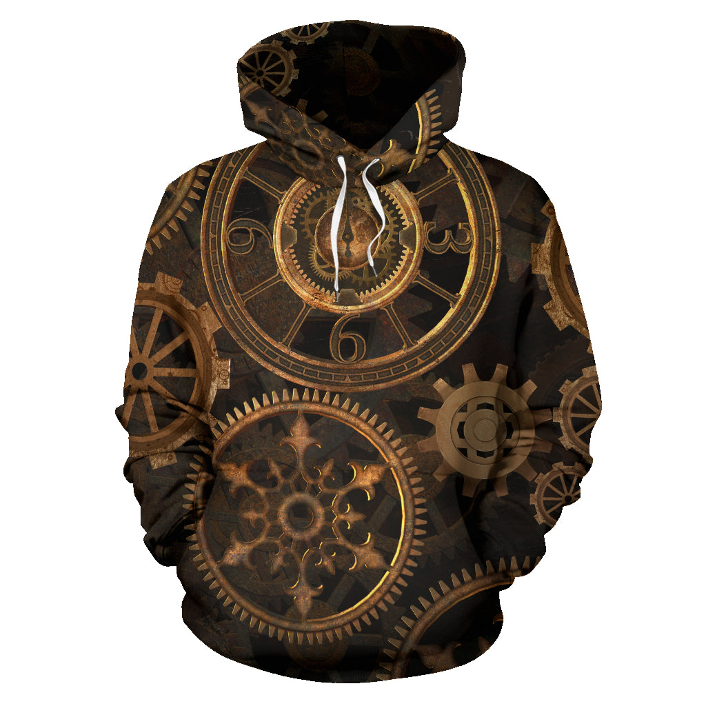 Steampunk Gears Hoodies
