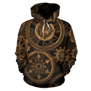 Steampunk Gears Hoodies - Hello Moa
