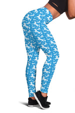 Blue Horse Leggings