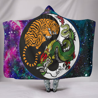 Yoga Animals Hooded Blanket