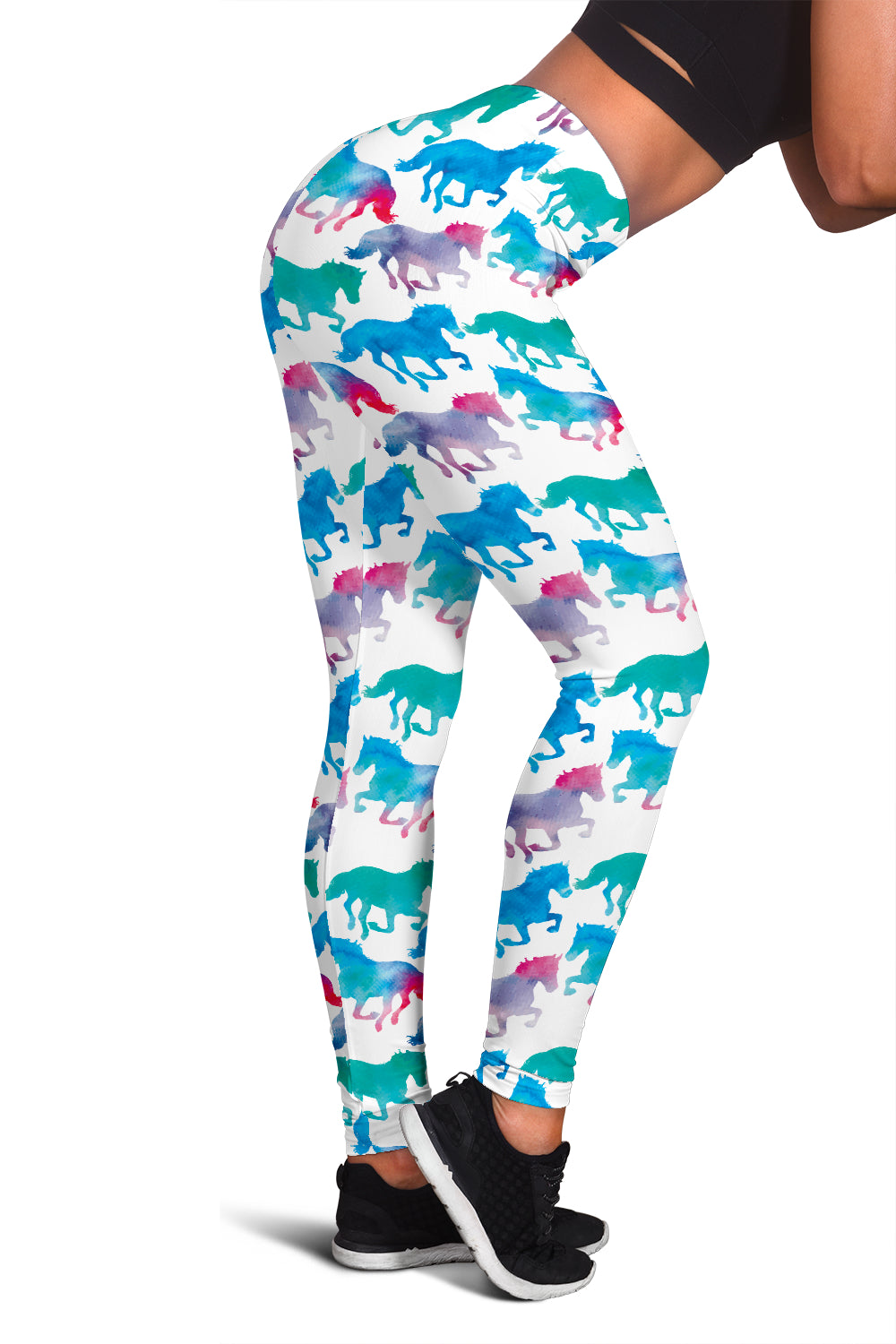 Colorful Horse Leggings