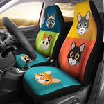 Cute Cats Car Seat Covers for Cat Lovers - Hello Moa